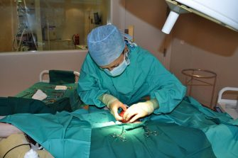 Our first surgical patients